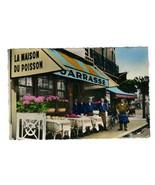Jarrasse L'Ecailler De Paris Postcard Deauville France - $13.86