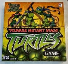 Teenage Mutant Ninja Turtle Board Game Apply some WHACKS PARTIAL Set 2 men lost - $9.88