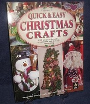 Christmas Crafts Gifts Quick Easy 133 Projects Like New Volume 1 Leisure... - $15.00