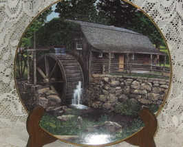 Old Mill Stream Collector Plates-Knowles -Retired Series-Set of 4 - $40.00