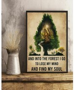 Watercolor And Into The Forrest I Go Horse, Art Prints Poster Home Decor... - $25.59+