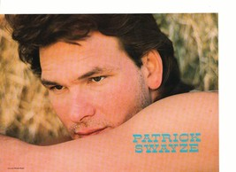Patrick Swayze Kirk Cameron teen magazine pinup clipping showing his arm Bop