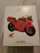 Hallmark 2019 Honda Motorcycles '1992 NR750' Keepsake Ornament QXI3407 - $11.88