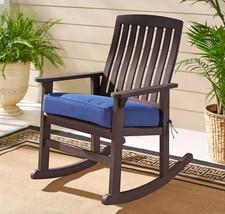 Patio Cushioned Rocking Chair Porch Balcony Dur... - $129.00