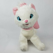 "Disney Store Aristocats Marie 12"" Plush White Cat Pink Bow Authentic Stu... - $19.34"