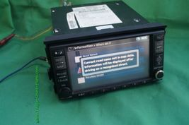 Nissan Altima GPS CD AUX NAVI Bose Stereo Radio Receiver Cd Player 25915-JA00B image 10