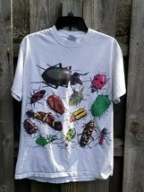 Bug T- Shirt Los Angeles County Natural History Museum Beetles Arthropod  - £17.37 GBP