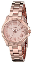 NWOT Fossil Women's AM4611 Cecile Small Rose Gold-Tone Stainless Steel Watch - $89.05