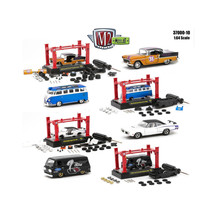 Model Kit 4 Pieces Set Release 10 1/64 Diecast Model Cars by M2 Machines... - $60.54