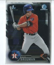 ALEX BREGMAN RC 2016 Bowman Chrome Prospects #BCP4 ROOKIE Astros - $8.49