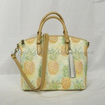 NWT Brahmin Duxbury Leather Satchel/Shoulder Bag in Multi Pompano - $299.00