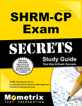 New SHRM-CP 2017 Exam Secrets Study Guide SHRM Test Practice Review Ques... - $59.99