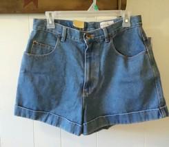 Vintage 1990s Westport Denim Jean Shorts Hi Waist Size 12 NWT - $19.88