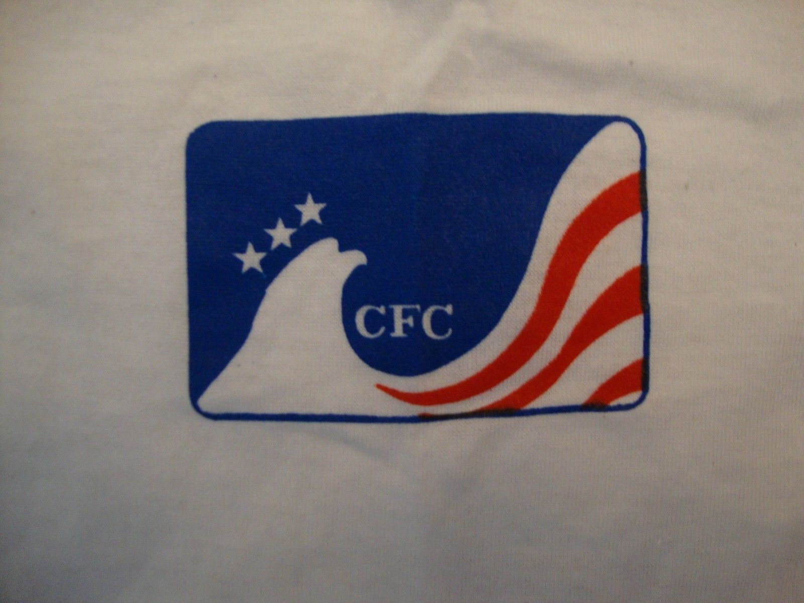 Primary image for Vintage CFC Combined Federal Campaign Logo White Soft T Shirt Size M
