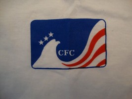 Vintage CFC Combined Federal Campaign Logo White Soft T Shirt Size M - $16.82