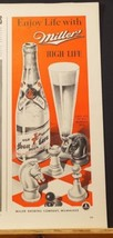 1942 MILLER Beer CHESS Board & Game Pieces Print Ad - $9.99