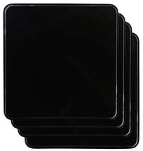 New Gas Burner Covers Square Kitchen Home Stove Top Black Reston Lloyd 4... - $19.99