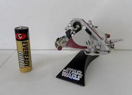 Star Wars AOTC Titanium Republic Clone Swamp Speeder 100%Complete Hasbro!! - $6.99