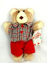 Wendy's Furskins Teddy Bear 1986 Original Appalachian Artwork Inc. Boone... - $5.89