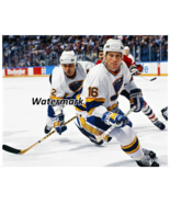NHL St.Louis Blues Brett Hull Adam Oates Game Action Color 8 X 10 Photo ... - £4.01 GBP