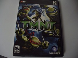 TMNT (PC, 2007) 3 disc set, box and manual, great condition   - $3.71