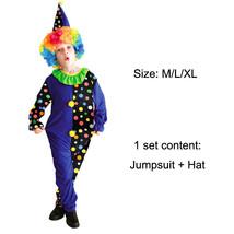 TPDT* B 0056B Halloween Costumes Kids Children Funny Clown Costume Naugh... - £33.99 GBP
