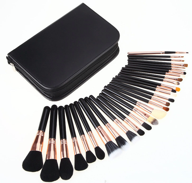 Professional 29-Piece Complete Cosmetic Makeup Artist Brush Set