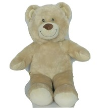 Build A Bear Cream Tan Smiling Teddy Bear BAB Plush Stuffed Animal 2009 ... - $23.75