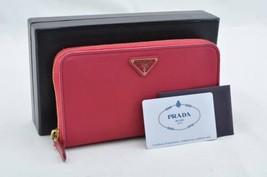 PRADA Nylon Wallet Pink Auth 9975 - $160.00
