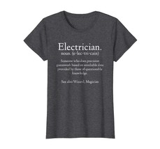 Brother Shirts - Funny Electrician Definition T-shirt Electrical Engineer Wowen - $19.95+