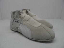 PUMA Women's Eskiva Mid Textured WN'S-W Cross-Trainer Shoe Beige/White Size 7M - $28.49