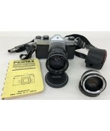 Vintage 1970's Honeywell Pentax SP 500 35MM SLR Camera With 62mm Vivitar... - $49.49
