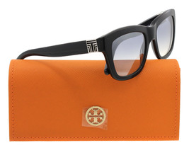 New Authentic Tory Burch Sunglasses Women TY 7075 Black 5016G TY7075 52mm - £70.31 GBP