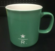 STARBUCKS Reserve Coffee Mug Green Ceramic 9oz Rare!!! New Fast Ship!!! - $26.39