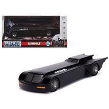 Batmobile The Animated Series DC Comics Series Diecast Model Car by Jada... - $16.74