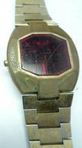 VINTAGE 1970'S BAYLOR SANYO RED LED WATCH FOR RESTORATION PARTS - $80.00