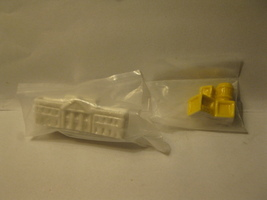 Wade miniture set - the White House & Yellow Crate stack, factory sealed - $7.50