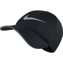 NEW! NIKE Unisex Aerobill Elite Running Adjustable Hat-Black 848375-010 - $54.33