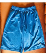NIKE SHORTS Jordan Blue Athletic Basketball Shorts Boys 10-12 - $9.85