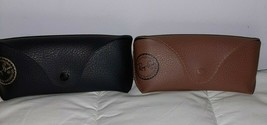 Ray-Ban Eyeglasses Sunglasses Optical Soft Case with Cleaning Cloth - Black - $14.96