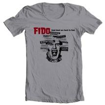 FIDO movie T-shirt film Zombie horror movie 100% cotton grey tee Free Shipping image 2