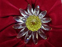 Swarovski Crystal SCS Yellow Marguerite Flower Figurine,2000 SCS Member ... - $49.00