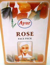 Ayur Rose 100grams Face Pack Powder Revitalizing Healthy Skin - $6.00