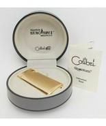 Vintage Gold Tone Colibri Electro Flame II Lighter Unused w/Case, Made i... - $53.96