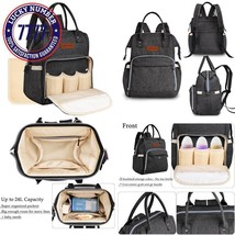 All In One Waterproof Diaper Bag Backpack Baby Nappy Bag For Boy And Gir... - $44.70