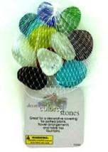 Colored Glass Stones - $6.18