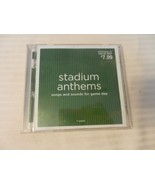 Stadium Anthems Songs and Sounds For Game Day (CD) Various Artists - $7.43