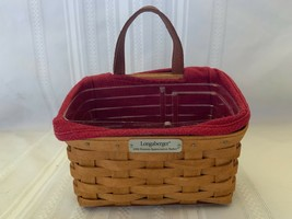 Longaberger 2006 Hostess Appreciation Basket With Protector and Paprika ... - $37.18