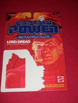 1987 Captain Power Lord Dread Cardboard Packaging Only - $14.01