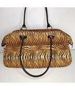 Travelon Anti-Theft Overnight Mini Duffel Carry-On Rfid Bag Tiger Animal... - $38.08